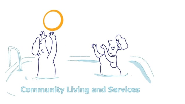 2D Animated Video Non-Profit Community Living Services